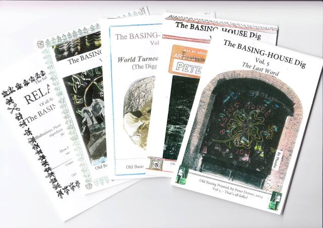 Peter's Basing House Zines